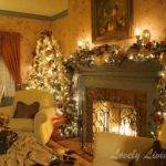 Christmas Living Room Decorating Ideas Home Design