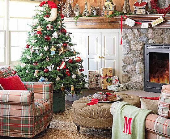 Christmas Living Room Design Ideas