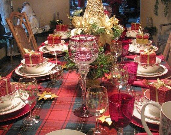Christmas Lunch Table Decoration Ideas