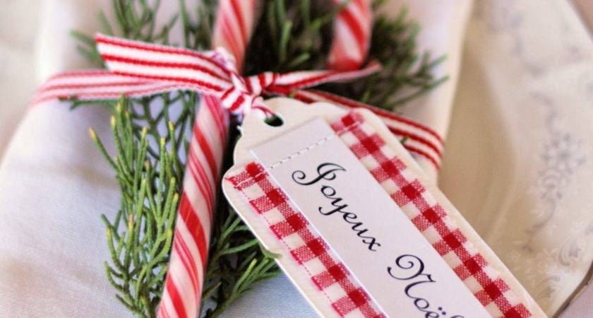Christmas Place Card Ideas Spoonful Sugar