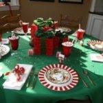 Christmas Round Table Decorations Designcorner