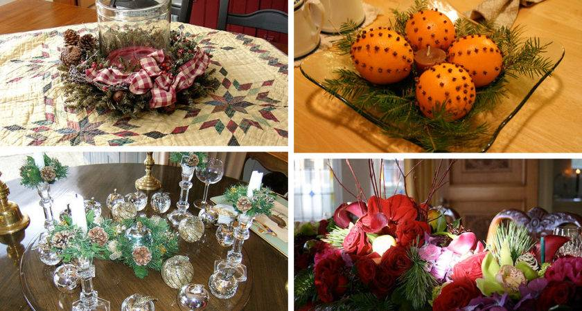 Christmas Table Decorations Ideas
