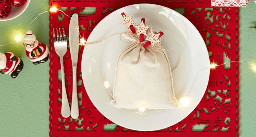 Christmas Table Setting Ideas Inspired Xmas