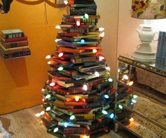 Christmas Tree Book Lovers Modern Met