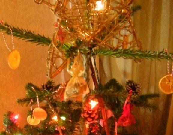 Christmas Tree Simple Homemade Natural Decorations