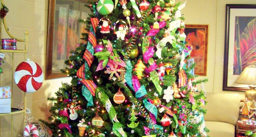 Christmas Trees Decorating Themes Design Home
