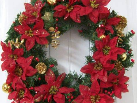Christmas Wreath Upcycle Simply Sweet Home