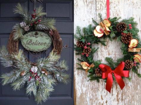 Christmas Wreaths Decorating Ideas Try Now Feed