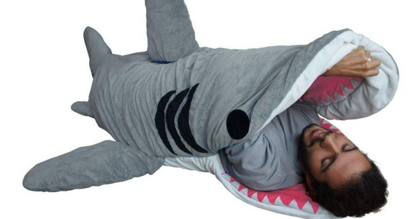 Chumbuddy Shark Sleeping Bag Gives New Meaning