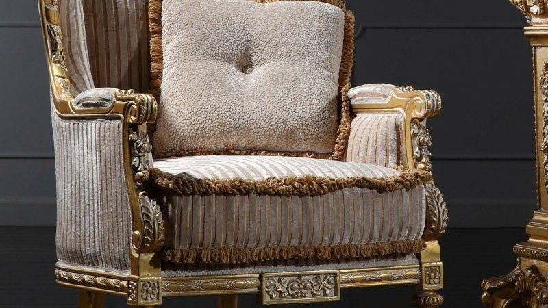 Classic French Furniture Hand Carved Wood