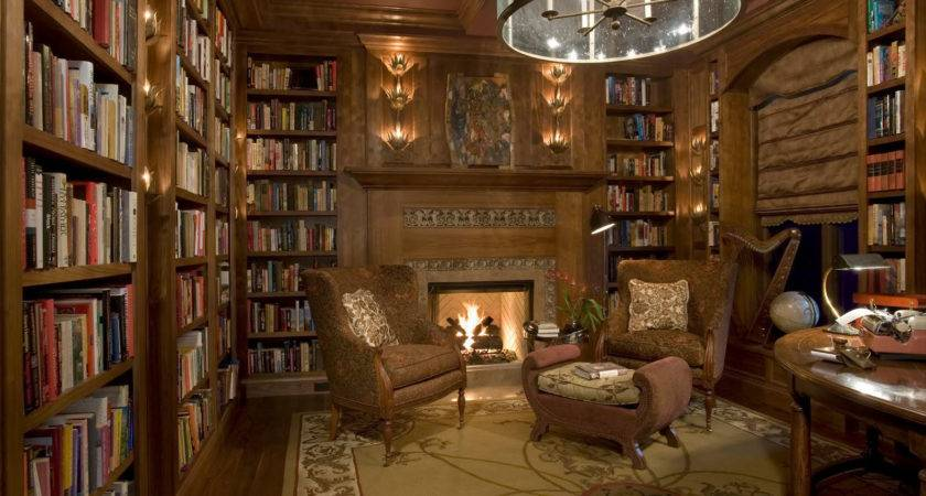 Classic Home Library Design Ideas Imposing Style