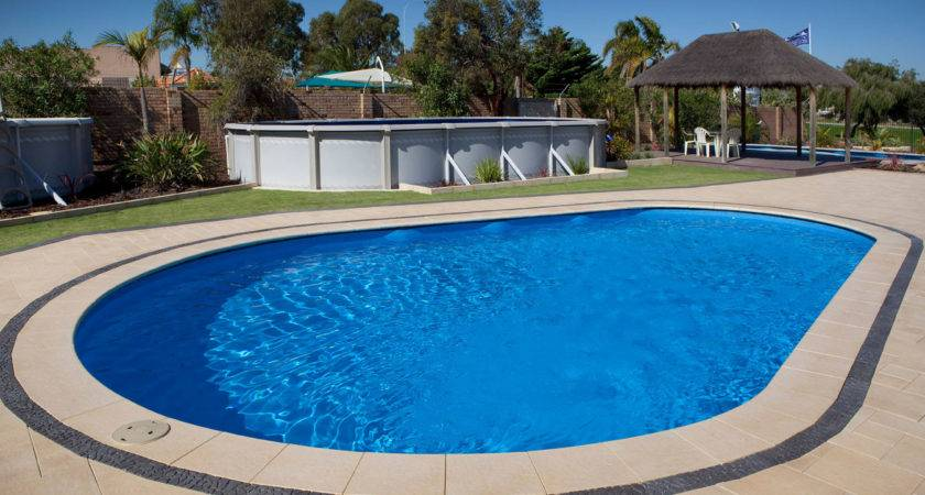 Classic Pools Teardrop Shape Swimming Pool