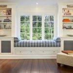 Classic White Grey Window Seat Bydesign Kitchens