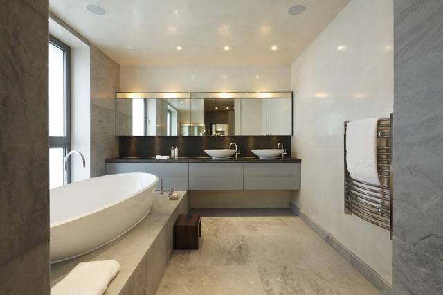Classy Pleasing Modern Bathroom Design Ideas