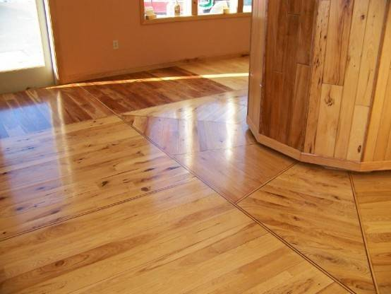 Clean Modern Style Laminate Solid Cheap Hardwood