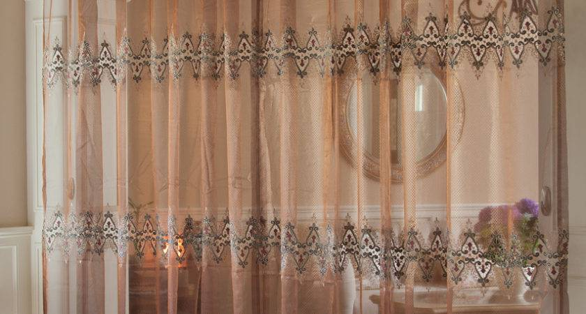 Cleopatra Embroidery Sheer Voile