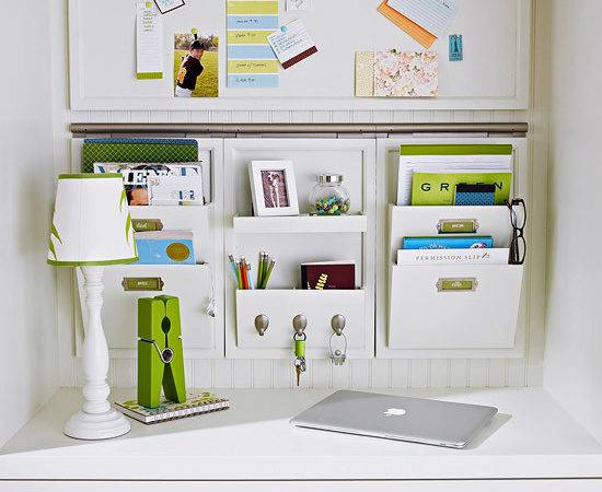 Clever Home Office Organization Ideas Refurbished