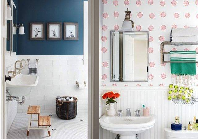 Clever Ways Decorate Your Bathroom Walls Home