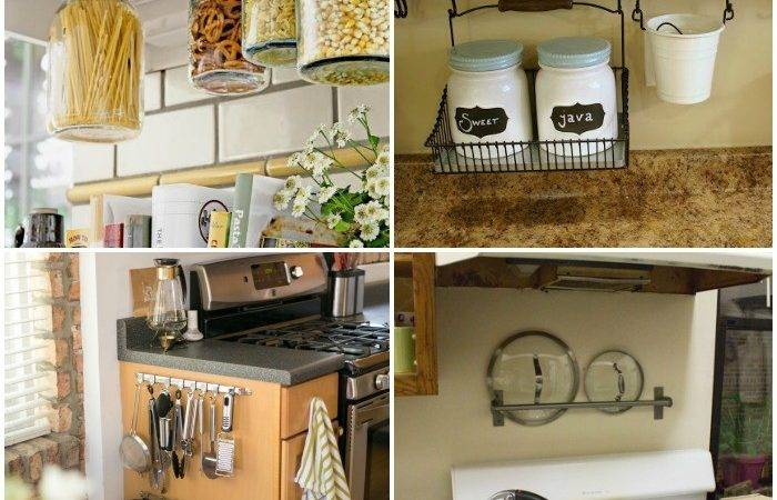 Clever Ways Get Rid Kitchen Counter Clutter