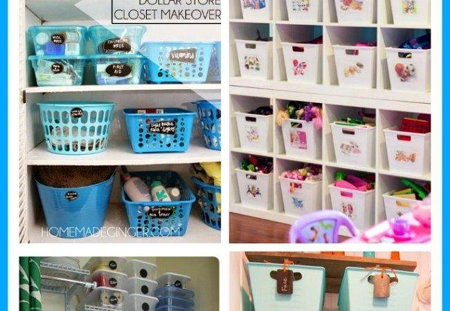 Clever Ways Organize Your Home Bins