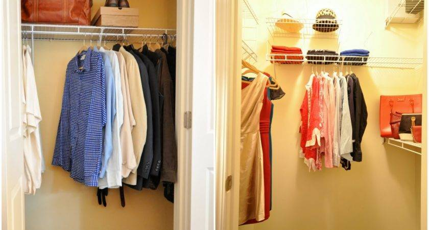 Closet Staging Real Estate Photos Our Open House