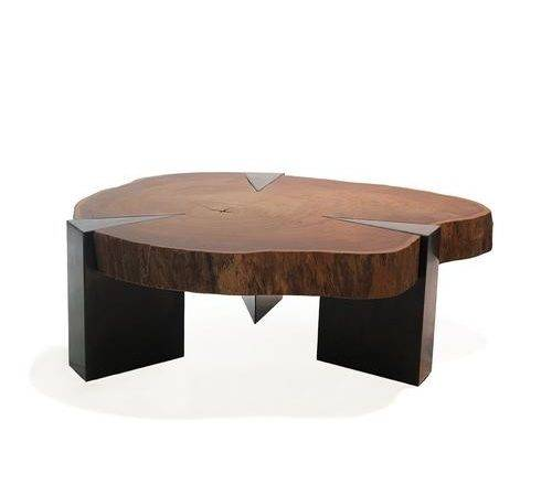 Coffee Table Modernist Solid Wood Small