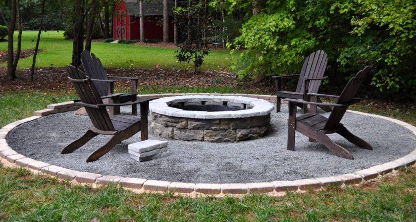 Collected Interior Our Diy Fire Pit