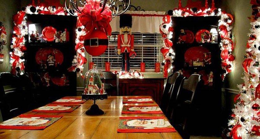 Collection Interesting Stuff Christmas Dining Room