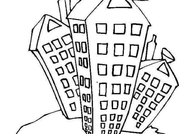 College Student Apartment Coloring Pages Best Place Color