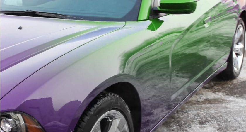Color Changing Car Paint Paramagnetic Youtube