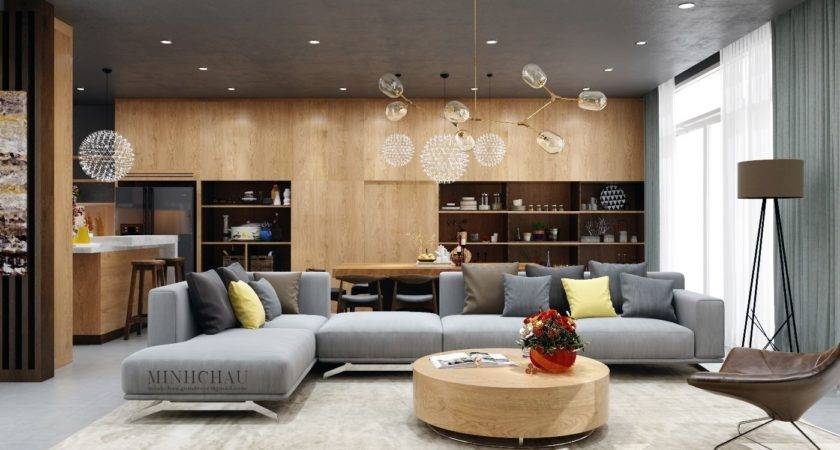 Color Combo Inspiration Wood Interiors Grey Accents