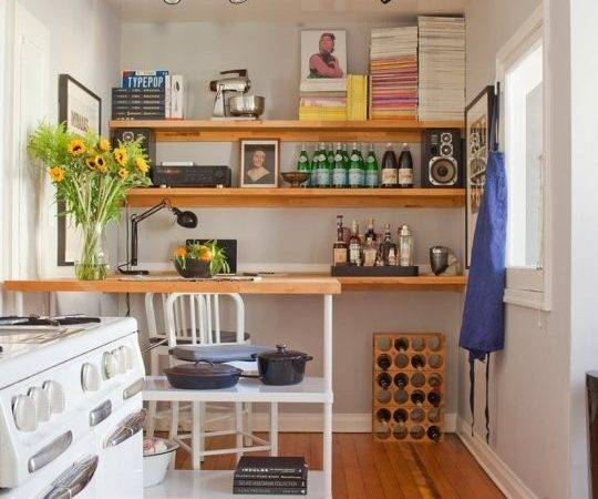 Color Paint Small Kitchen Make Looks