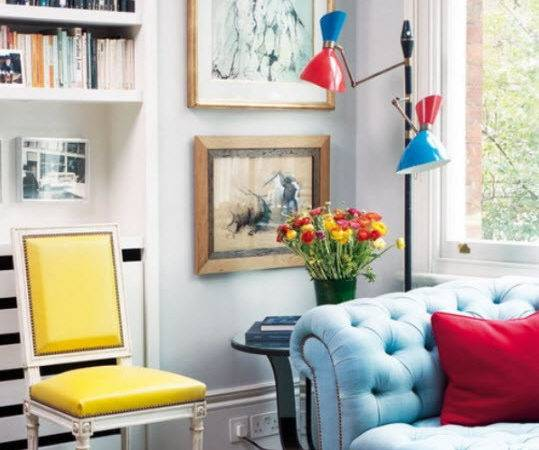 Colorful Apartment Decorating Ideas Seven