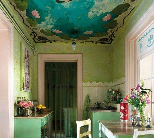 Colorful Ceilings Guest Post Furnishing Fabulous