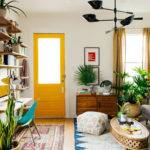 Colorful Decorating Ideas Small Living Room