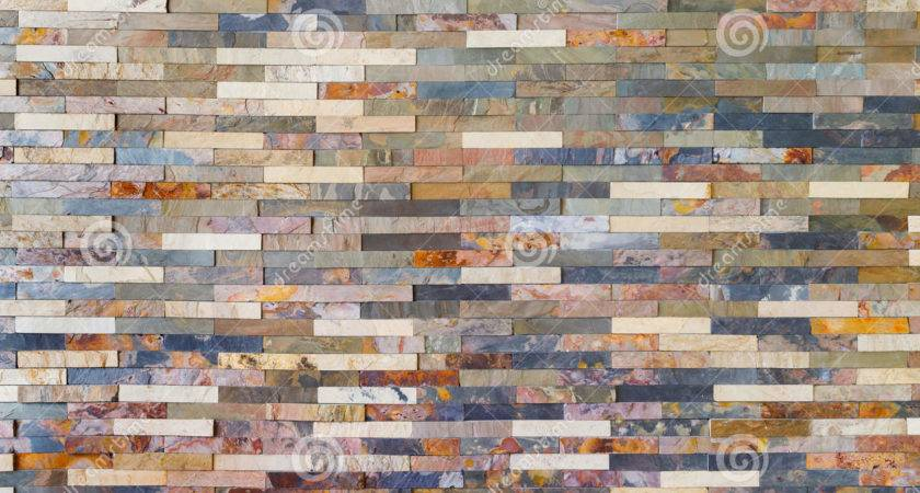 Colorful Stone Wall Tiles