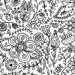 Coloring Decor Kids Spoonflower