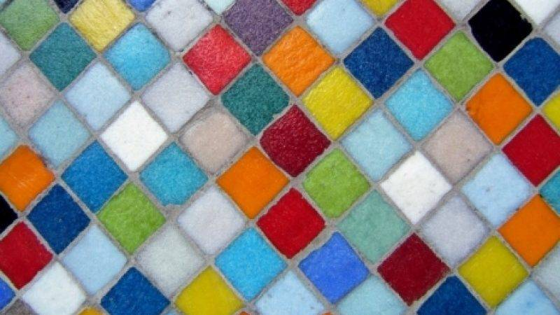 Colourful Wall Tiles Design Decoration