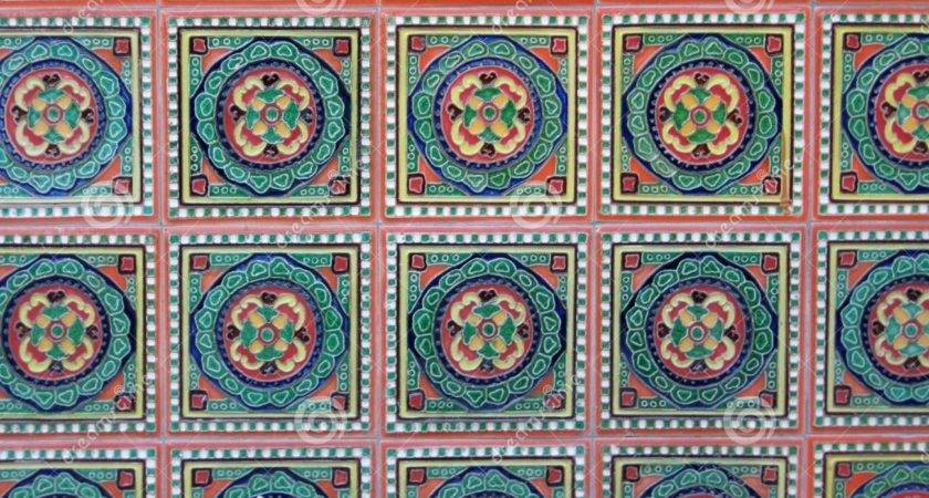 Colourful Wall Tiles Malaysian