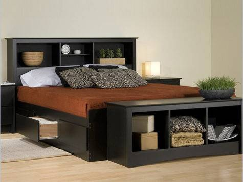 Combine Beauty Function Storage Platform Beds