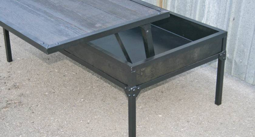 Combine Industrial Furniture Coffee Table