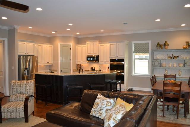 Combined Living Room Kitchen