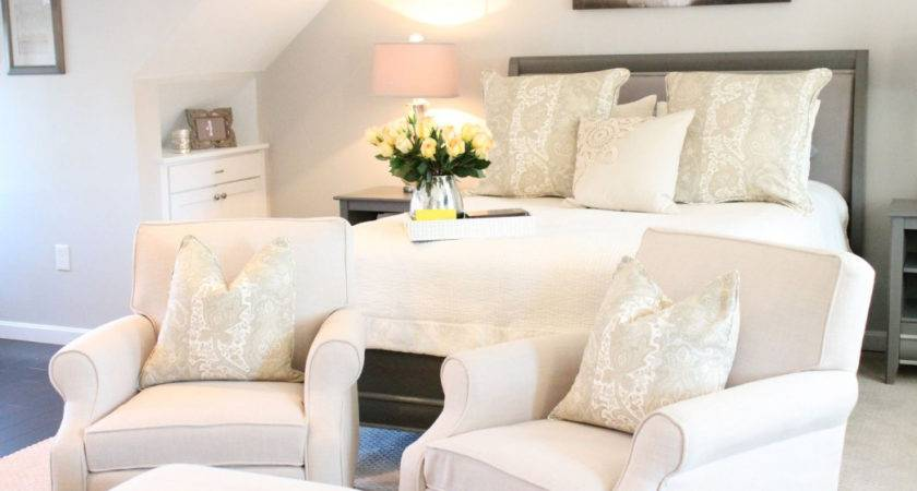 Comfortable Chair Bedroom Small Makeover