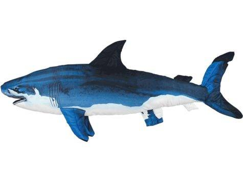 Comfortable Decorative Two Sided Giant Shark Body Lounge