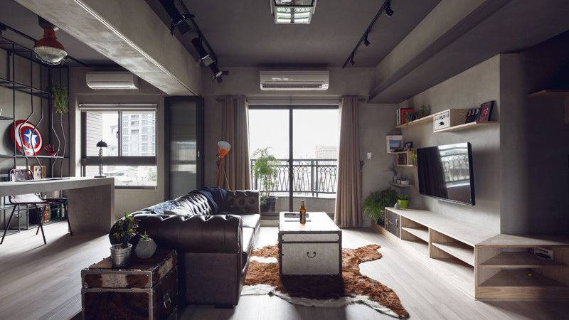 Complex Bachelor Apartment Taiwan Industrial