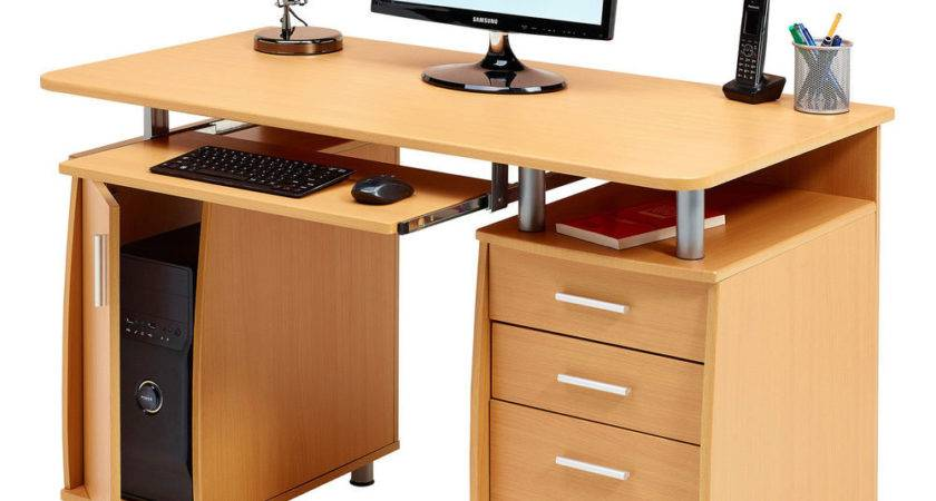 Computer Desk Storage Filing Drawer Home Office