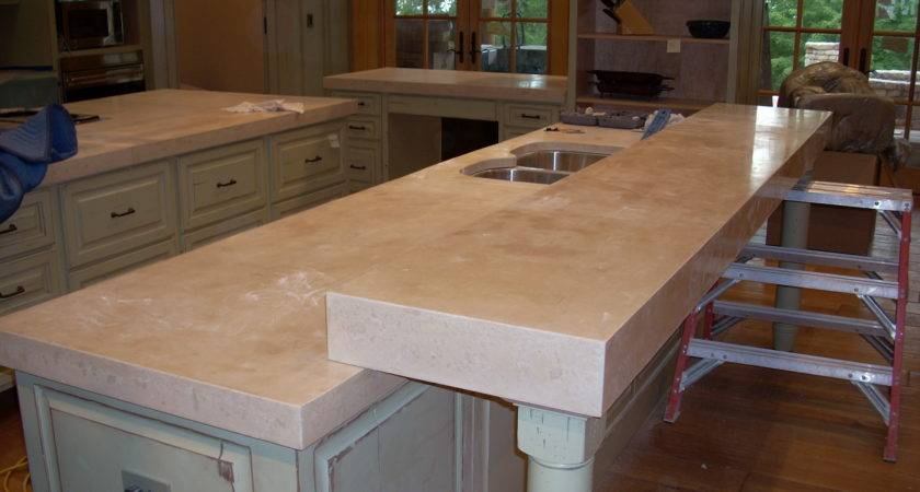 Concrete Kitchen Countertops Home Design Ideas Essentials