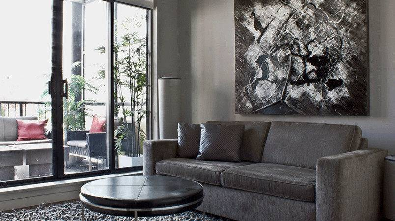 Condo Style Decorating Loft High Ceilings