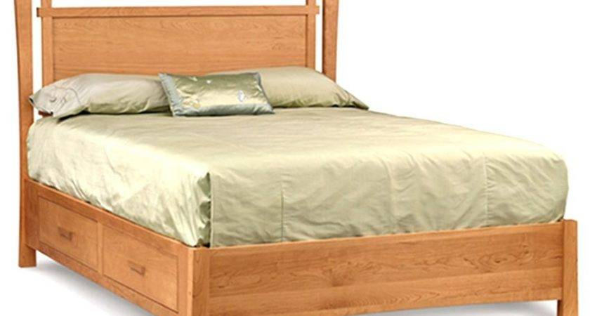 Conley Solid Sheesham Wood Double Bed Storage Buy