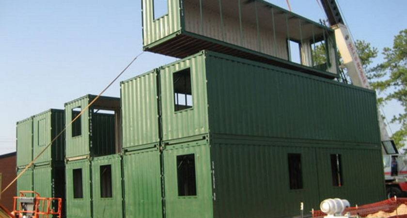 Container Homes Make Garage Shipping